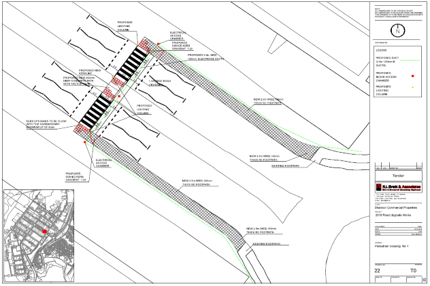 Shannon free zone road and pedestrian crossing upgrade works