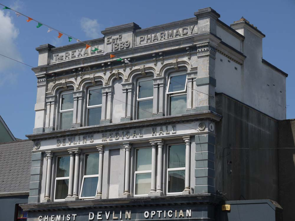 Devlins Chemist restoration Thurles